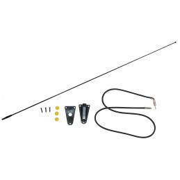 Black Antenna Kit, 76-95...