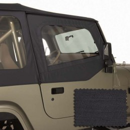 Upper Soft Door Kit Blk...