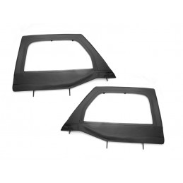 Upper Soft Door Kit Frt Blk...