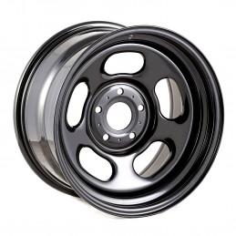 Black Steel Wheel, 17x9-...