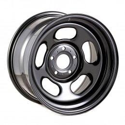 Black Steel Wheel, 17x9-...