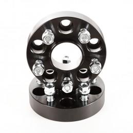 Wheel Spacers, Black, 1.25...