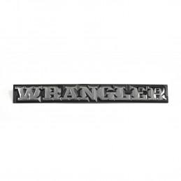 Wrangler Emblem, 87-91 Jeep...
