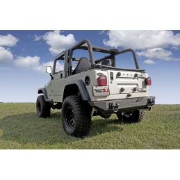 XHD Rear Bumper, 76-06 Jeep...
