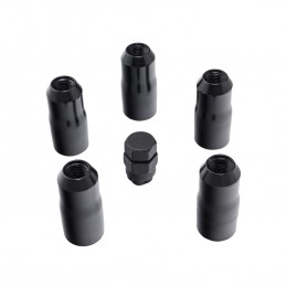 Wheel Lock Nut Set, 5 Nuts...