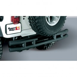 3-In Dbl Tube Rear Bumper...