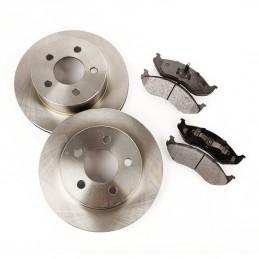 Brake Overhaul Kit, Front-...
