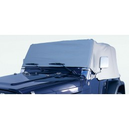 Cab Cover, Gray, 76-86 Jeep...