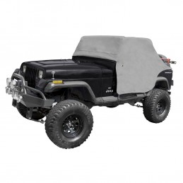 Cab Cover, Gray, 87-91 Jeep...