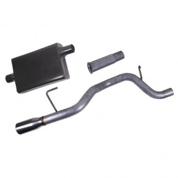 Cat Back Exhaust Kit, 02-06...