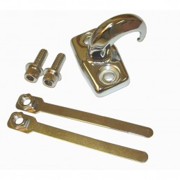 Chrome Rear Tow Hook, 97-06...