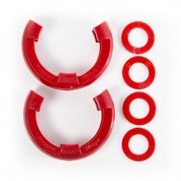 D-Ring Isolator Kit, Red...