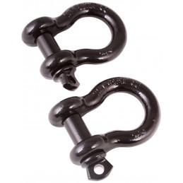 D-Shackles, 1-Inch, Black,...