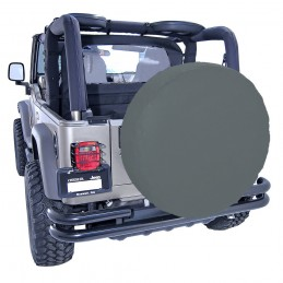 33-Inch Tire Cover, Black...