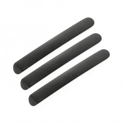 Door Handle Inserts, Black-...