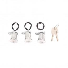 Door Lock Cylinder Kit, 3-...