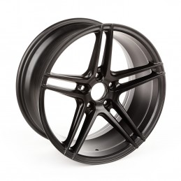 5 Spoke, Black ,Aluminum...