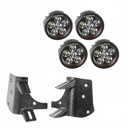 Dual A-Pillar LED Kit,...