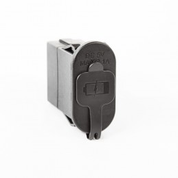 Dual USB Port Rocker Switch