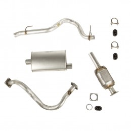 Exhaust Kit- 93-95 Jeep...