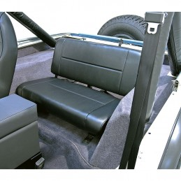 Fixed Rear Seat, Black,...