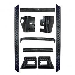 9-Piece Body Armor Kit,...