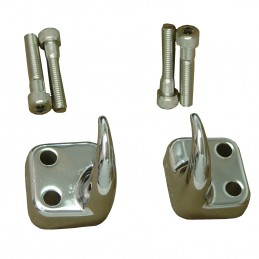 Front Tow Hooks, Chrome,...