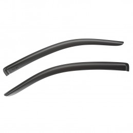 Front Window Visors, Black,...