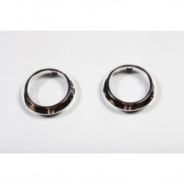 AC Vent Trim Rings, Chrome-...
