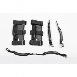 Grab Handle Kit, Black-...
