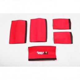 Grab Handle Kit, Red 07-10...