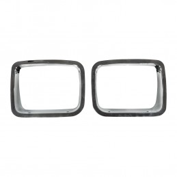 Headlight Bezel, Chrome,...