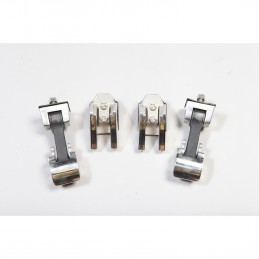 Hood Catch Set, Stainless...