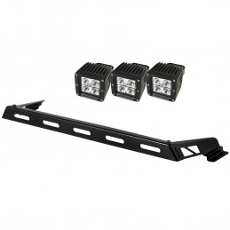Hood Light Bar Kit, 3 Cube...