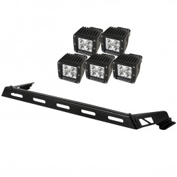 Hood Light Bar Kit, 5 Cube...