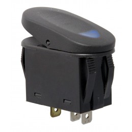 2-Position Rocker Switch, Blue