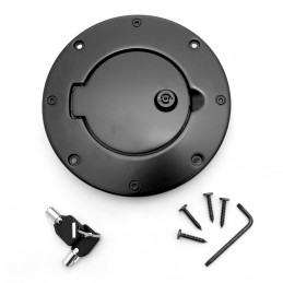 Locking Gas Cap Door Blk...