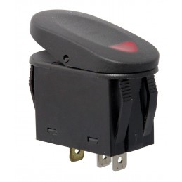 2-Position Rocker Switch, Red