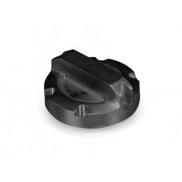 Oil Cap, Black Aluminum-...
