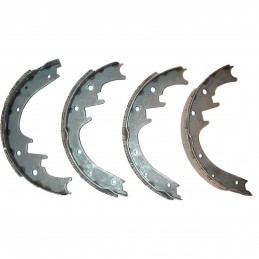 Rear Brake Shoes 02 Jeep...