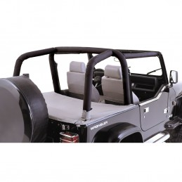 Roll Bar Cover Kit, Black...
